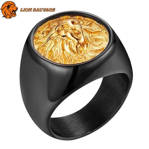 Bague Lion Grande Force