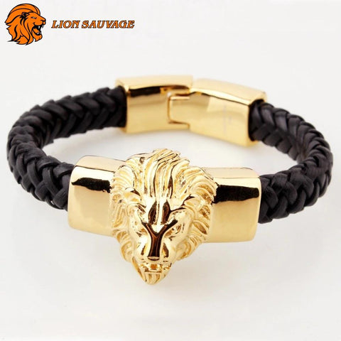 Bracelet Zodiaque Lion de face