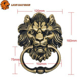 dimensions Heurtoir de Porte Tete de Lion Antique