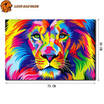 dimensions du Puzzle Lion Multicolore 1000 pieces