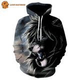 Sweat Lion Rugissant de lion Sauvage