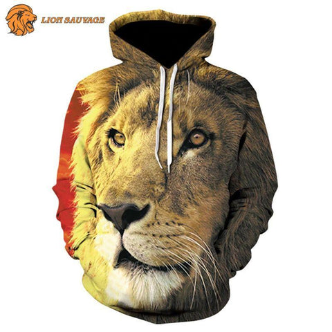 Sweat-shirt Lion Dominant