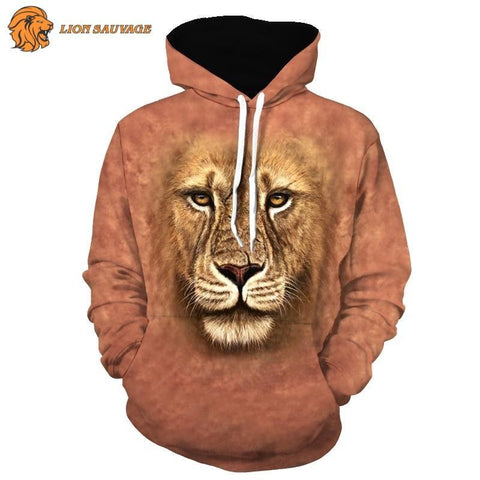 Sweat-shirt Tete de Lion