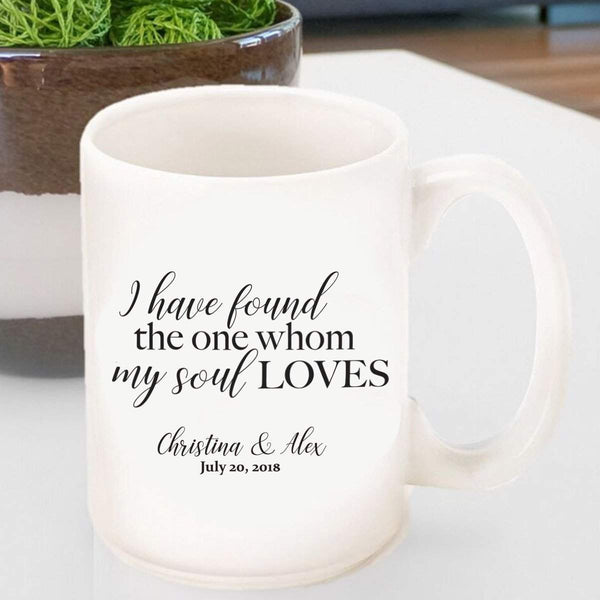 Personalized Coffee Mug - Song of Solomon - Groomdom