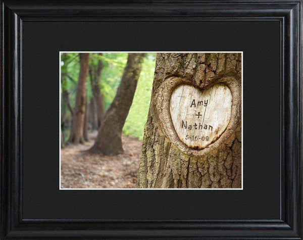 Personalized Wall Art - Tree of Love - Framed - Anniversary Gifts - Groomdom