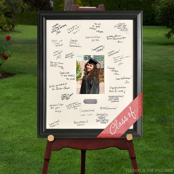 Personalized Graduation Gifts - Graduation Signature Frame - Groomdom