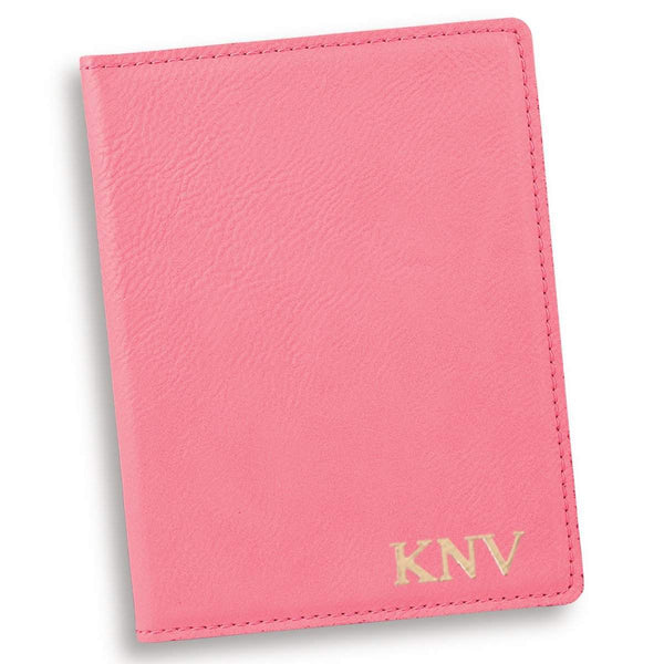 Personalized Pink Passport Holder - Groomdom