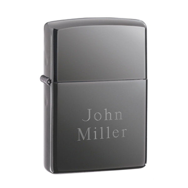 Personalized Lighters - Zippo - Black Ice - Groomsmen Gifts - Groomdom