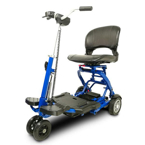 Minirider Folding Scooter Scooters EV Rider Blue