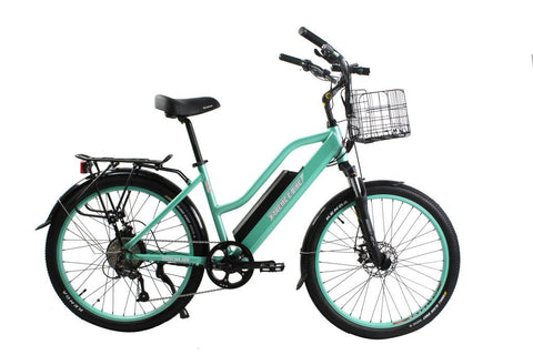 X-Treme Catalina Beach Cruiser 48 Volt Electric Step-Through Bicycle X-Treme Catalina Beach Cruiser 48 Volt Electric Step-Through Bicycle Electric Bike X-Treme E-Bikes