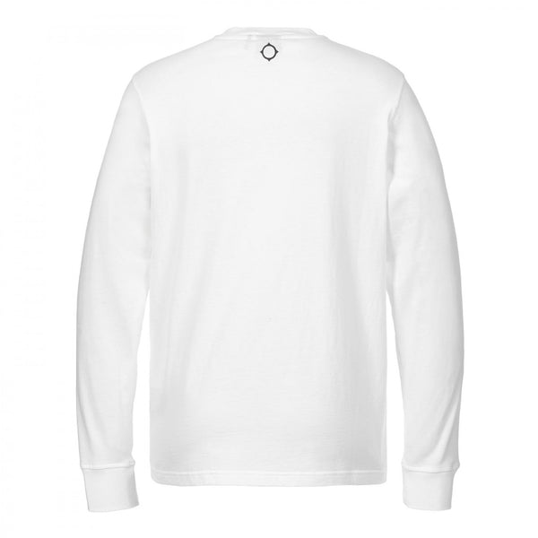 LS EMBOSSED LOGO TEE - Optic White - 1692.01.040