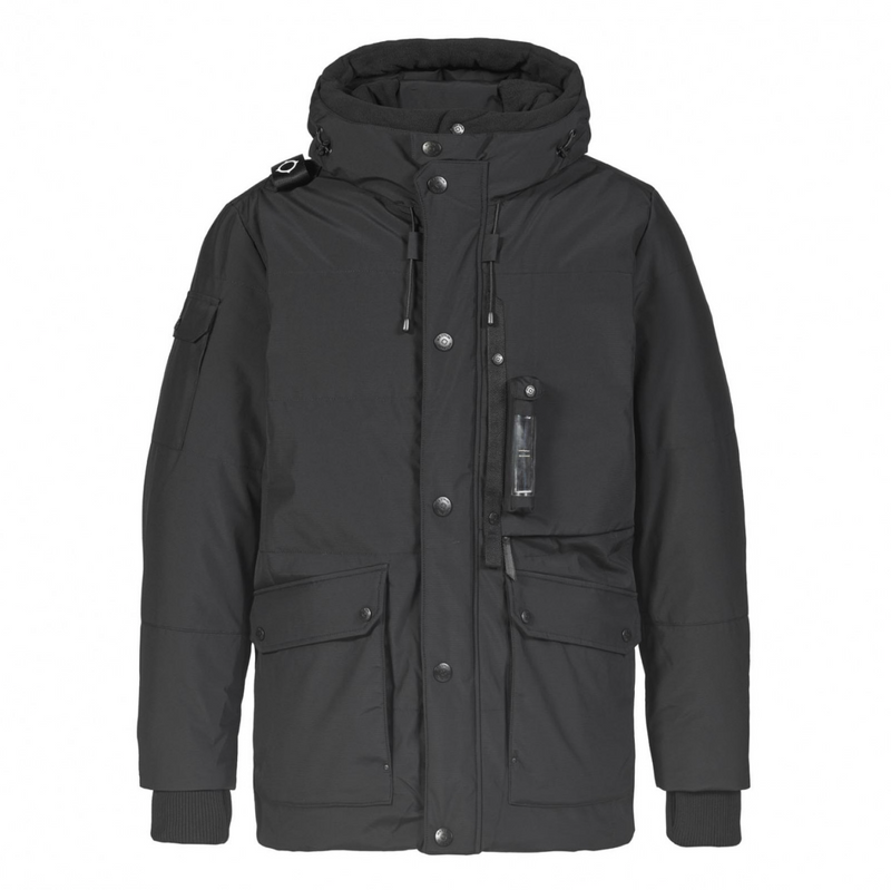 DOWN TORCH PARKA - Jet Black - 1527.10.020