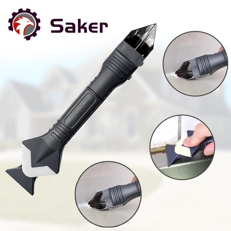 Saker 3 in 1 Silicone Caulking Tools