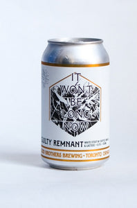 Guilty Remnant White Stout