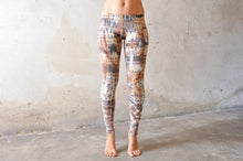 Indlæs billede til gallerivisning Diamond Leggings, lys brun