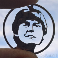 Load image into Gallery viewer, Paul McCartney - The Beatles - Hand Cut Coin Pendant.