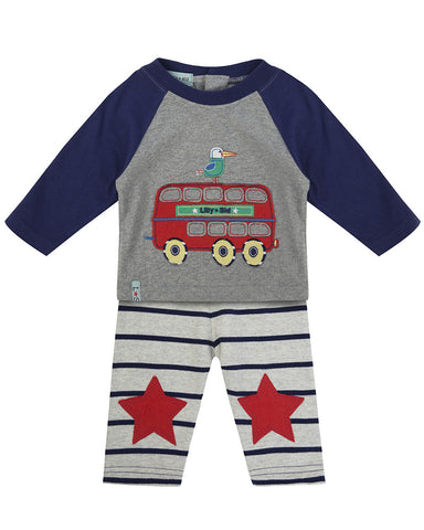 Lilly And Sid Baby Boy Summer Jogger suit set Lilly + Sid