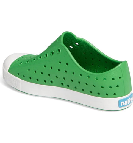 Native Shoes Jefferson Slip on in Giant Green at The Groovy Gator in Newport RI