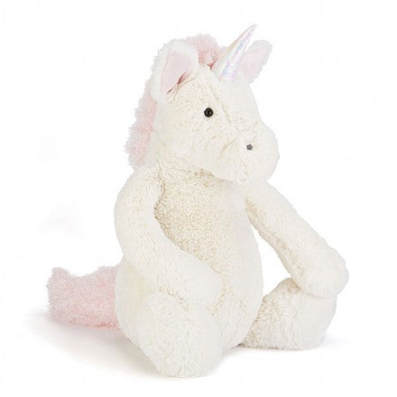 Jellycat Bashful Unicorn plush toy at The Groovy Gator Newport RI