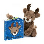 Jellycat If I were a Reindeer - Book