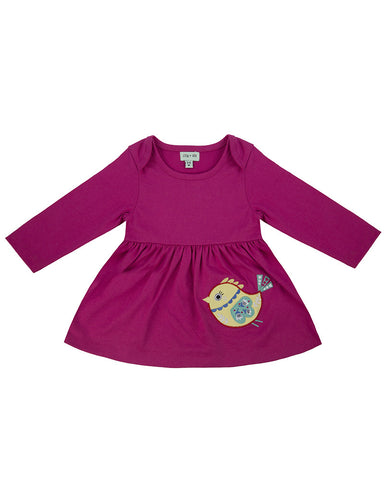 Lilly and Sid Baby Girl Jersey Cotton Playdress Lilly + Sid