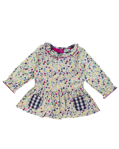 Lilly and Sid Baby Girl Floral Print Dress Lilly + Sid
