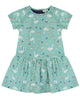 Lilly + Sid Summer Dress Girls Limited Edition Swan Print at The Groovy Gator
