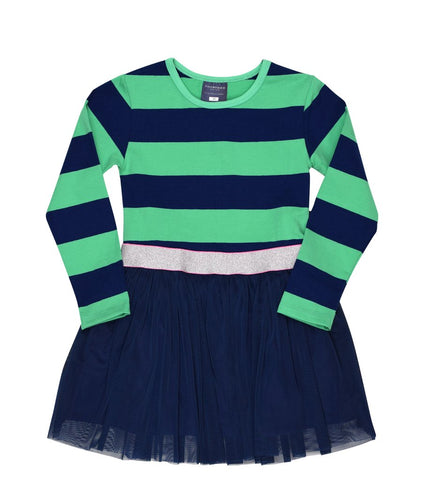 ToobyDoo Faye Long-Sleeved Dress for Girls at The Groovy Gator in Newport RI