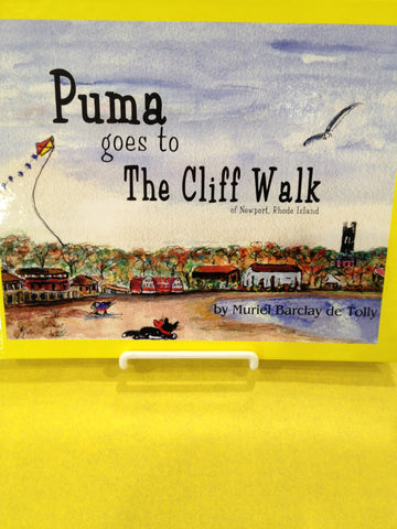 Puma goes to the Cliff Walk