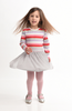 Toobydoo Girls Aaliyah Pink Striped Party Dress available at The Groovy Gator in Newport, RI