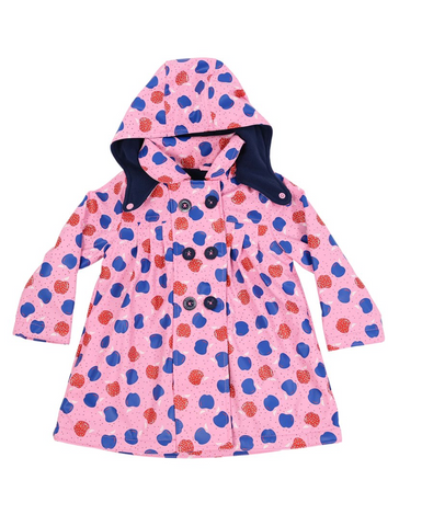 Pink Apple Raincoat