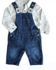 Me & Henry Jean Overalls available at The Groovy Gator Newport, RI