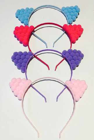 Pom Pom Cat Headband
