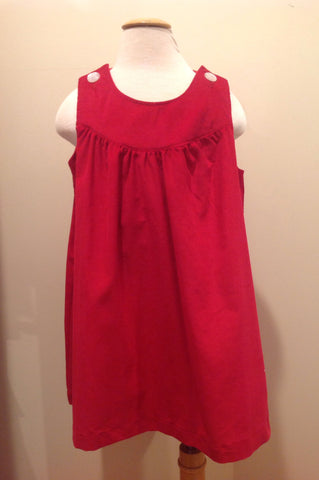 Ellie Dress - Red Cord