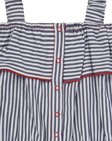 Lilly + Sid Girls Vintage Stripe Playsuit at The Groovy Gator