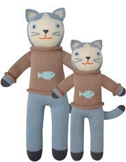BlaBla Hand Knit Doll Sardine the Cat at The Groovy Gator