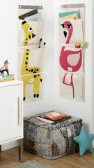 Wall Organizer - flamingo