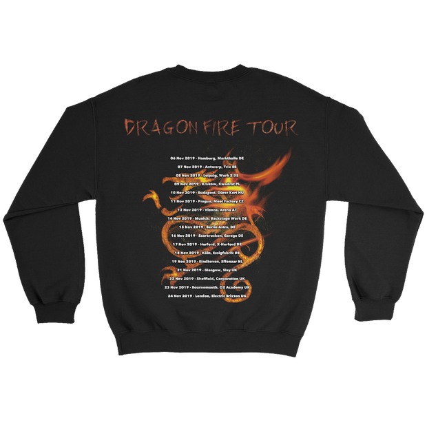 Dragon Fire Tour Crew Neck LTD EDI