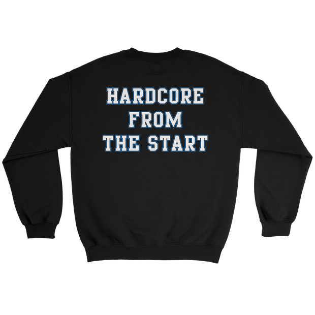 Hardcore From The Start Sweat - Black