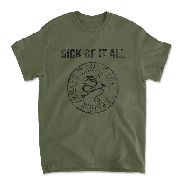 Blitzkrieg T-shirt - Military Green