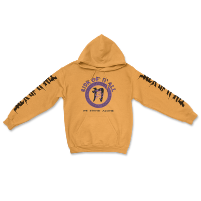 We stand alone hoodie - Gold