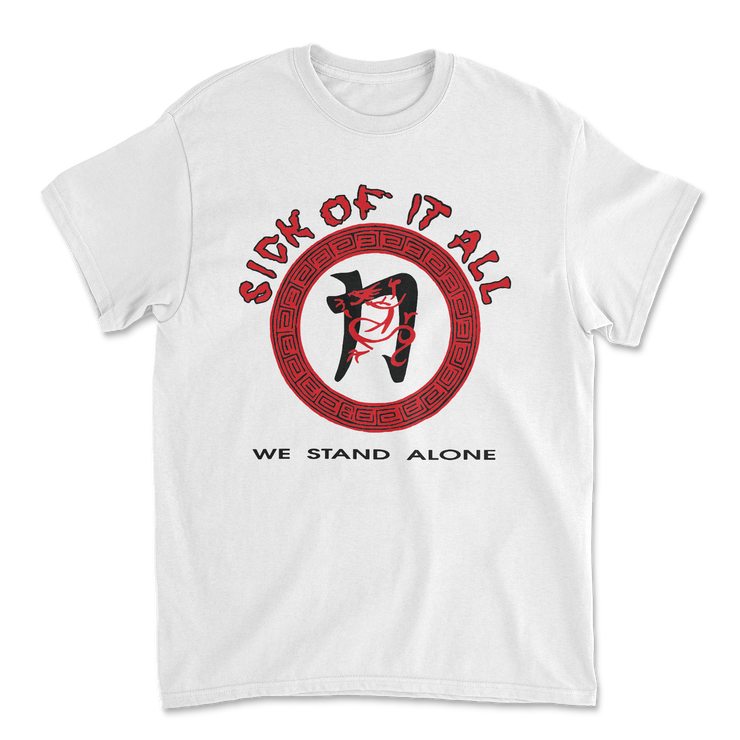 We stand alone t-shirt - White