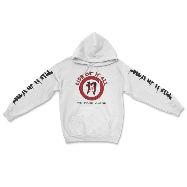 We stand alone hoodie - White