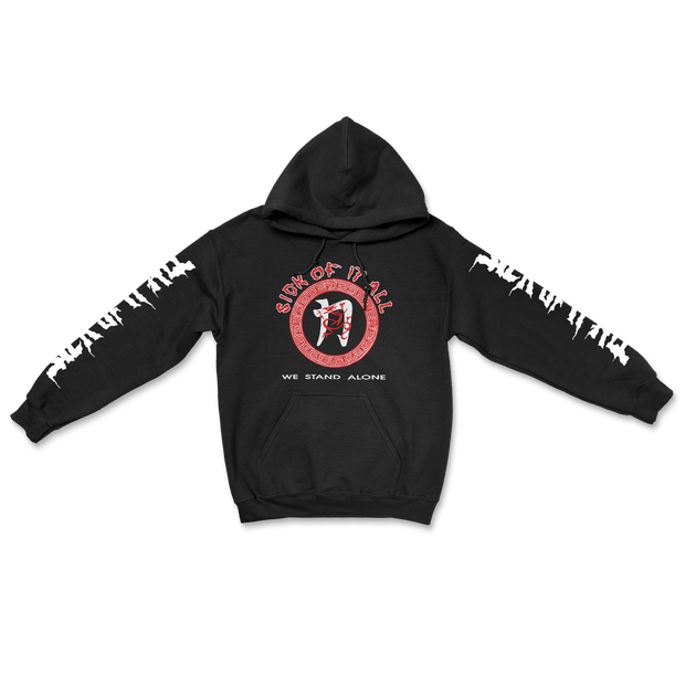 We stand alone hoodie - Black
