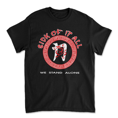 We stand alone t-shirt - Black