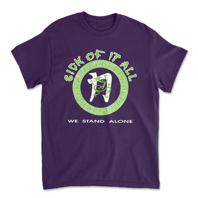 We stand alone t-shirt - Purple