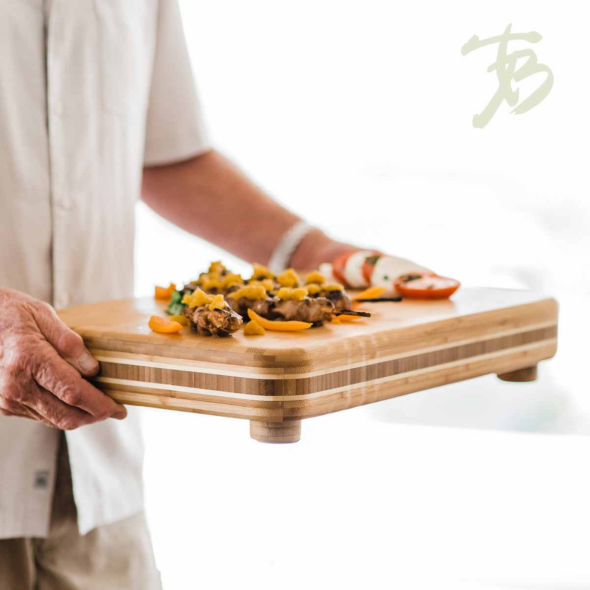 Totally Bamboo - Big Easy Cutting & Serving Board
