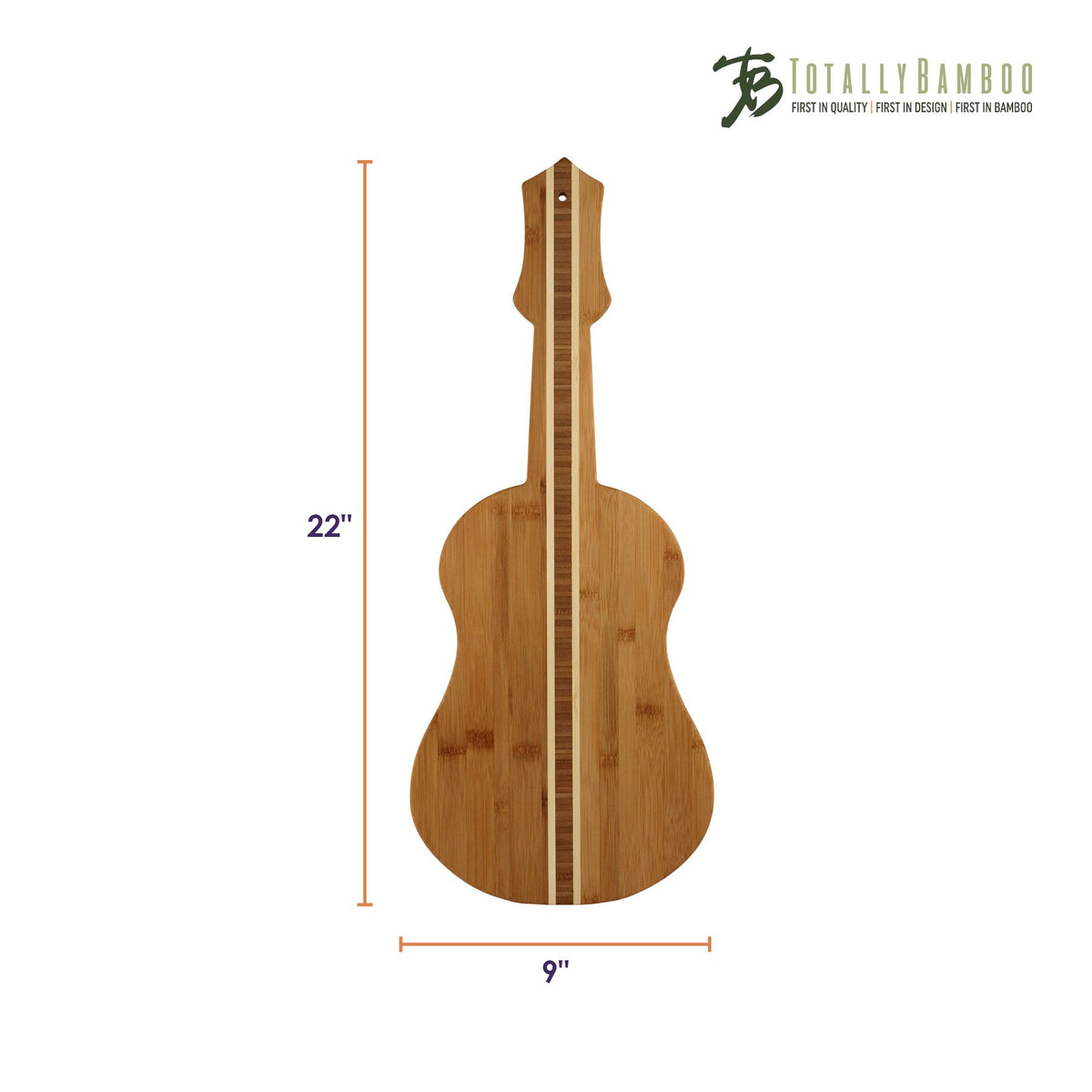 Totally Bamboo - Ukulele Cutting & Serving Board