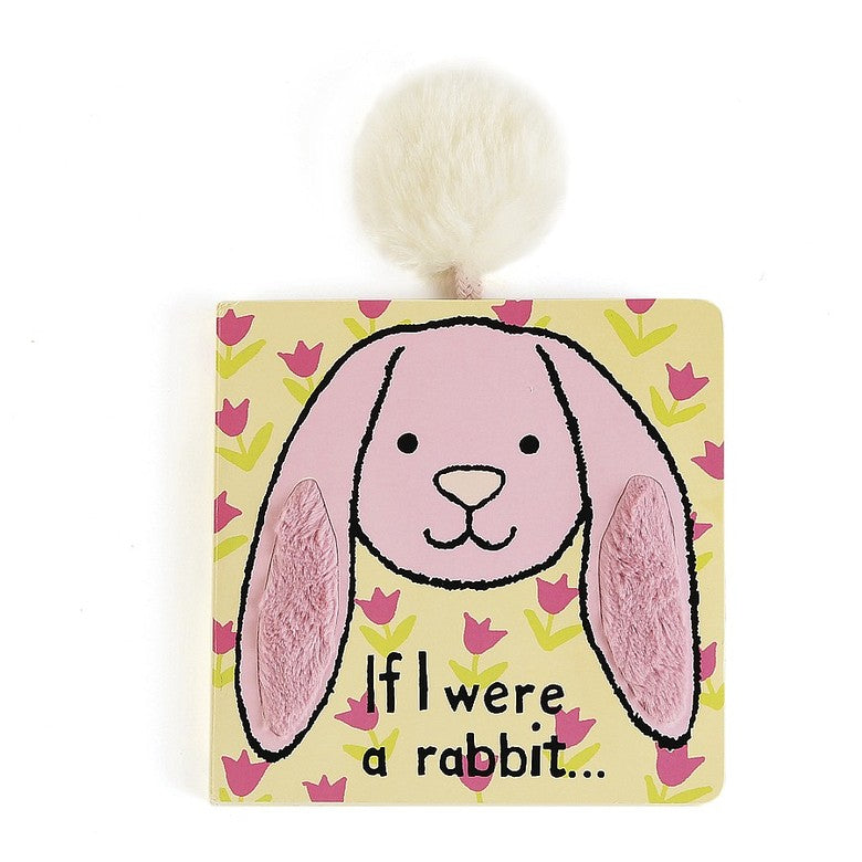 "Jellycat - ""If I Were a Rabbit"" Board Book, Pink"