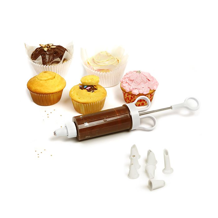 Norpro - Cupcake Injector/Decorating Icing Set